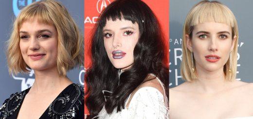 Les Influenceurs de Style prennent leur Bangs plus court et plus Wispier
