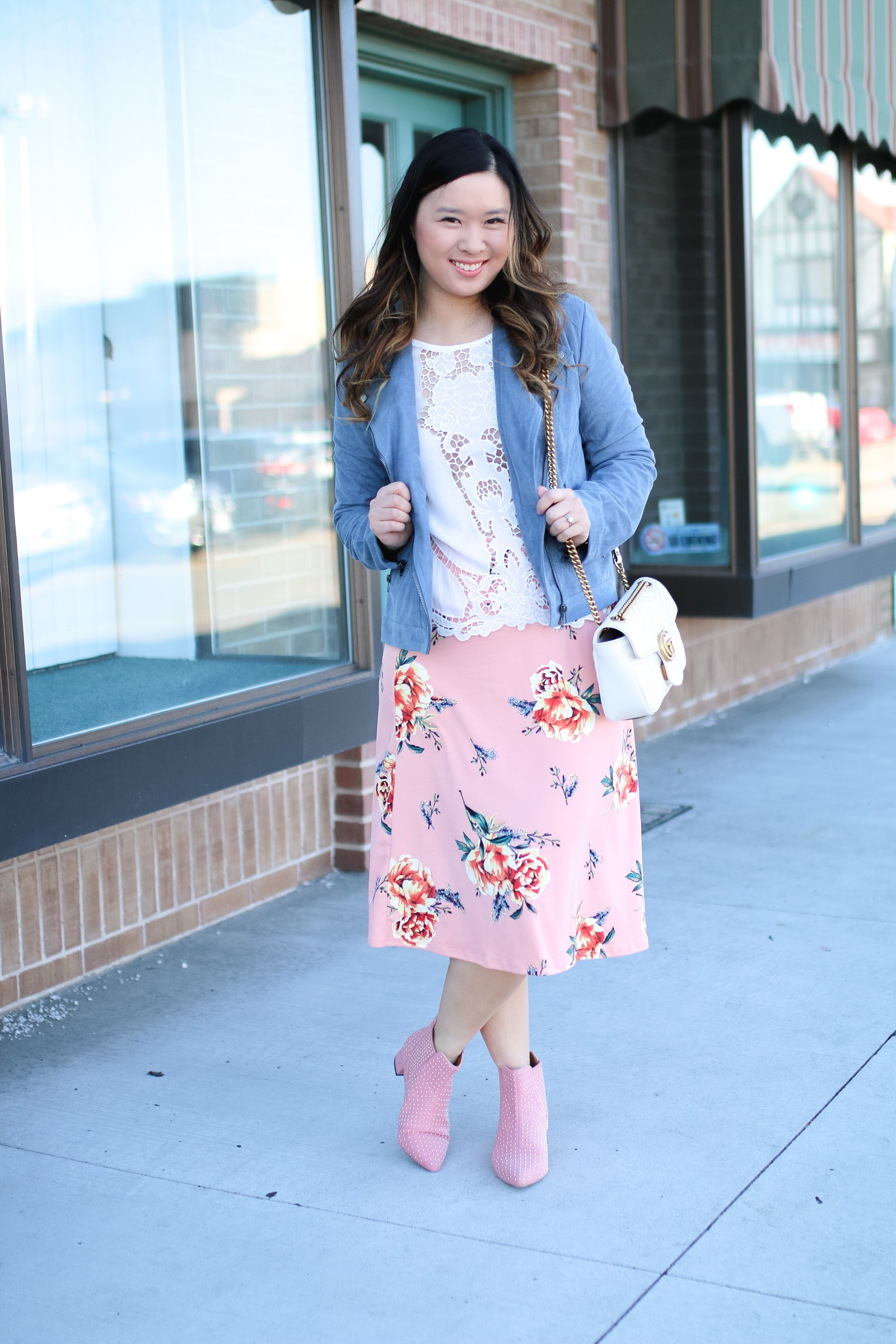 <pre>2 tenues de jupe florale chic   Gucci Giveaway
