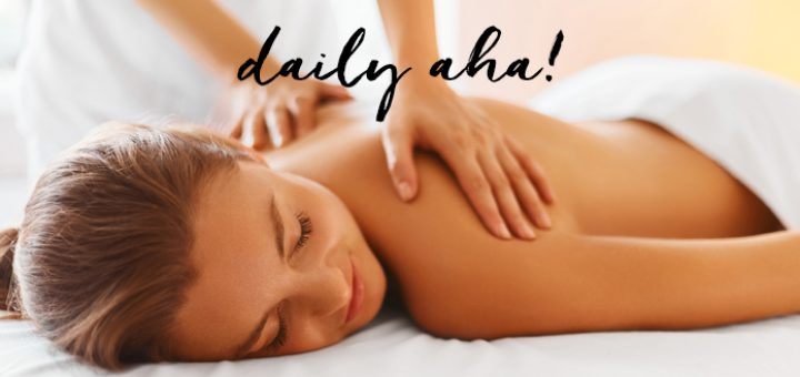 Les effets déshydratants du massage