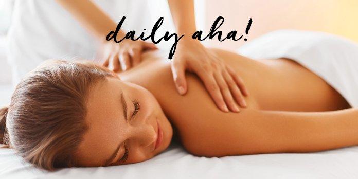 <pre>Les effets déshydratants du massage